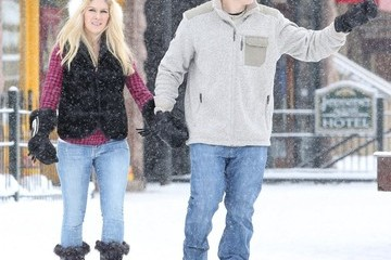 Heidi Montag Heidi Montag & Spencer Pratt Out And About In Aspen