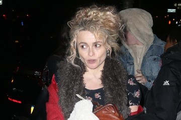 Helena Bonham Carter Helena Bonham Carter Heads Out in NYC