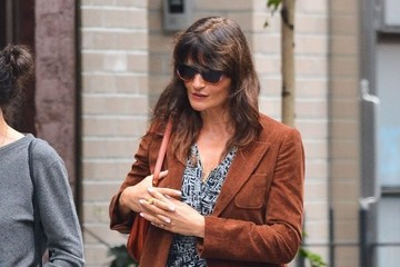 Helena Christensen Helena Christensen Out and About in NYC