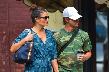 Helena Christensen Helena Christensen and Paul Banks Out in NYC