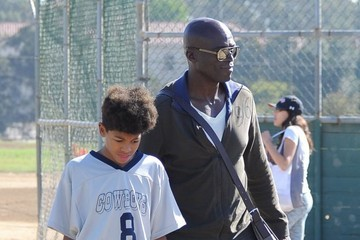 Henry Samuel Seal Hangs Out at His Son's Soccer Game in LA
