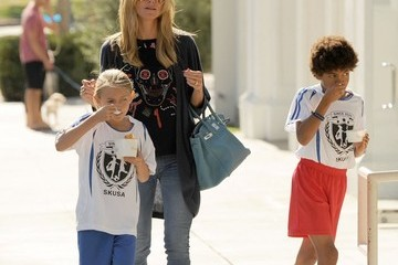 Henry Samuel Heidi Klum Takes Her Kids To Pinkberry