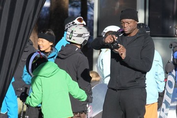 Henry Samuel Seal Out and About in Mammoth
