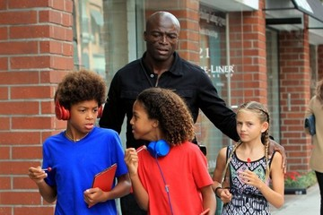 Henry Samuel Seal Takes His Kids to a Doctor's Appointment
