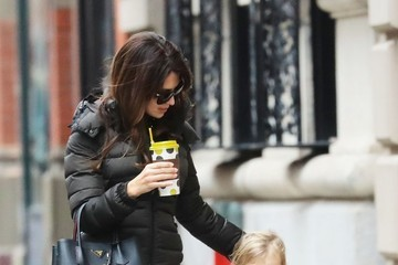 Hilaria Baldwin Hilaria Thomas Out In NYC With Her Daughter