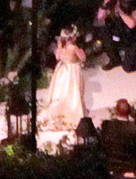 General views of the Hilary Duff and Mike Comrie wedding in Santa Barbara, ...