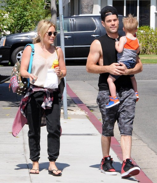 Hilary+Duff+Hilary+Duff+Family+Out+Break