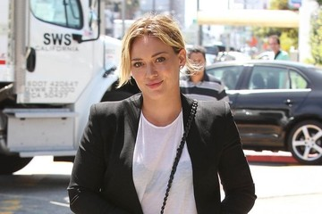Hilary Duff Out and About in Hollywood