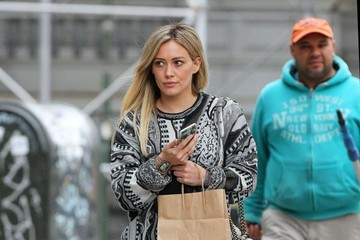 Hilary Duff HIlary Duff Out and About in NYC