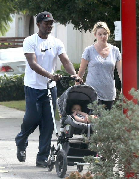 Harold Perrineau Out with His Family