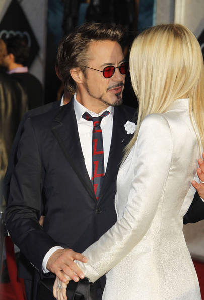 Celebrities attend the 'Iron Man 2' world premiere at the El Capitan Theatre in Hollywood, CA.