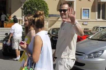 Jack Coleman Celebrities Out and About During the Monaco TV Festival