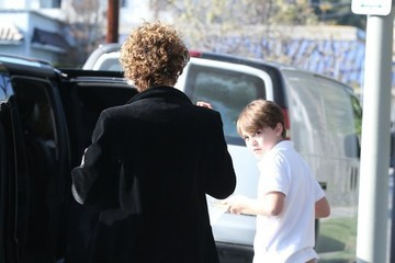 Jack Depp Vanessa Paradis Out And About With Her Son