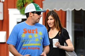 Jackie Sandler Adam Sandler and His Wife Get Breakfast
