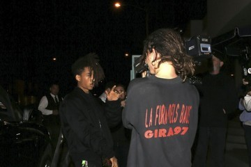 Jaden Smith Jaden Smith Records a Video Outside Catch LA in West Hollywood
