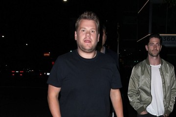 James Corden Celebrities Enjoy a Night Out at the Nice Guy Nightclub