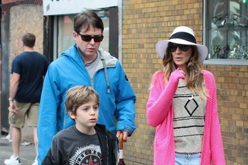 James Wilke Broderick Sarah Jessica Parker Takes Her Family for a Walk — Part 2