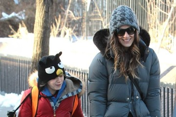 James Wilke Broderick Sarah Jessica Parker Takes James To School In New York