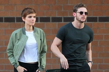 Jamie Bell Kate Mara and Jamie Bell Go out for a Stroll in New York City