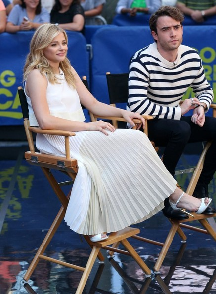 "Jamie Blackley - Chloe Grace Moretz Says ""Good Morning America"""