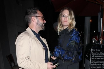 January Jones Celebrities Enjoy A Night Out At Craig's
