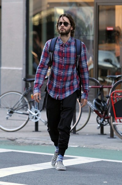 Jared Leto Goes Out in NYC