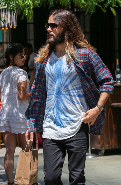 Jared Leto - Jared Leto Steps Out in NYC