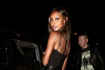 Jasmine Tookes Celebrities Visit Catch in West Hollywood