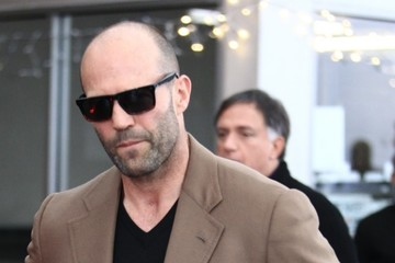 Jason Statham Sylvester Stallone and Jason Statham Grab Lunch in Beverly Hills