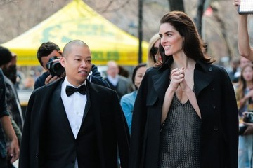 Jason Wu Hilary Rhoda and Jason Wu Doing A Photo Shoot in New York