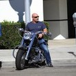 Jay Glazer Jay Glazer Goes for a Ride on His Motorcycle