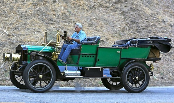 Spotted Jay Leno Cruising In His Steam Car Celebrity Cars Blog