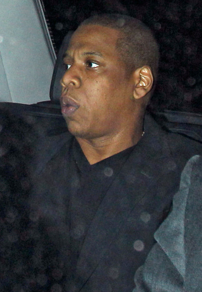 Jay-Z - Jay-Z Leaving Zuma Restaurant