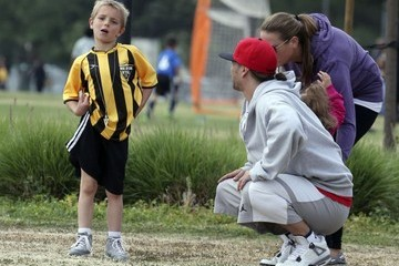 Jayden James Federline Britney Spears and Kevin Federline Watch Their Boys