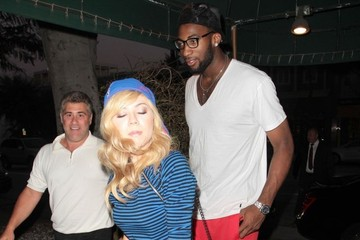 Jenette McCurdy Celebs Grab Dinner at Madeo