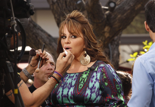 Jenni Rivera - Jenni Rivera Doing An Interview For EXTRA