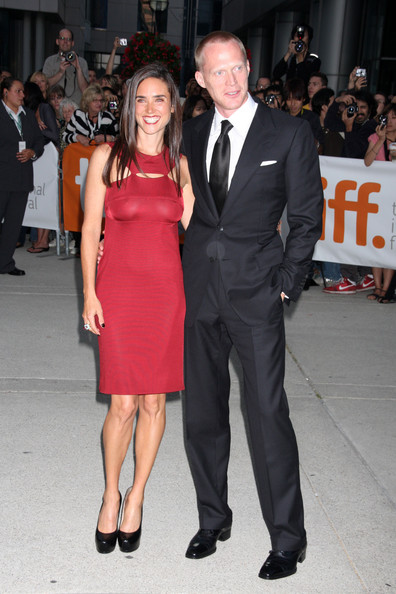 Paul Bettany with Wife