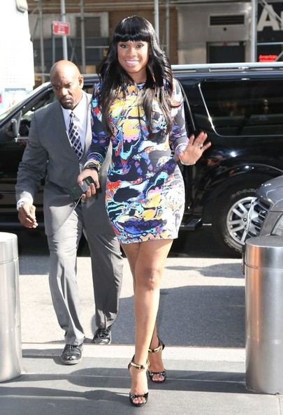 Jennifer Hudson - Jennifer Hudson Is All Smiles in NYC