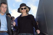 Jennifer Lawrence Lands In Los Angeles