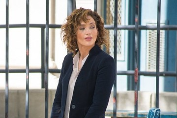 Jennifer Lopez Stars on the Set of 'Shades of Blue'