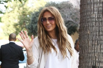 Jennifer Lopez Jennifer Lopez and Casper Smart Spotted in Burbank