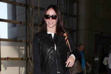 Jennifer Love Hewitt Jennifer Love Hewitt and Brian Hallisay Leave LA