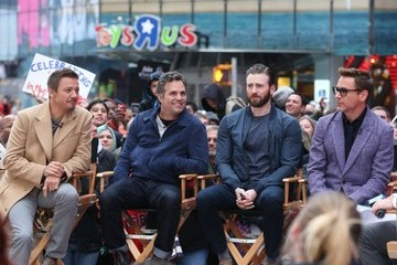 Jeremy Renner The 'Avengers' Assemble at 'Good Morning America'