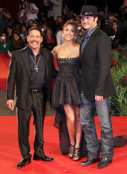 jessica alba machete hot. Danny Trejo and Jessica Alba