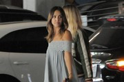Jessica Alba Arrives at Honest Company For Her Birthday