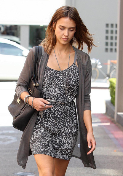 Jessica Alba Out And About In Beverly Hills []