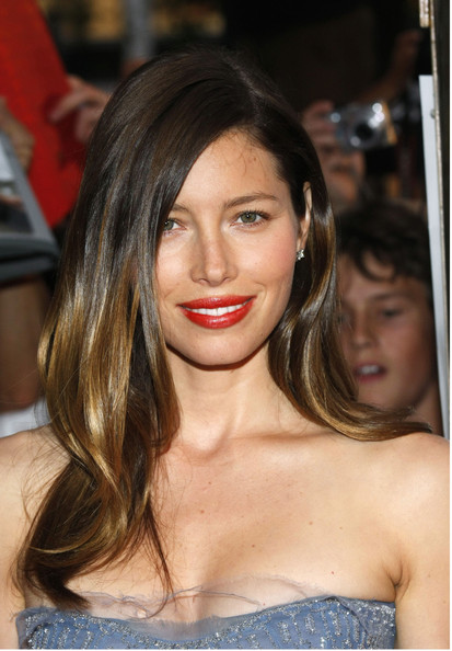 "Jessica Biel Celebrities walk the red carpet at the ""A-Team"" Germany premiere in Berlin."
