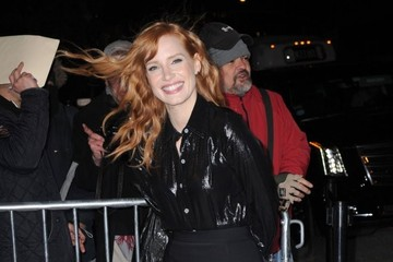 Jessica Chastain Jessica Chastain Visits 'The Daily Show with Jon Stewart'