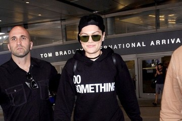 Jessie J Jessie J Arrives at LAX
