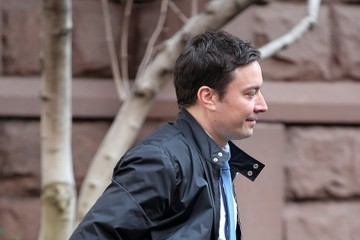 Jimmy Fallon Jimmy Fallon Steps Out in NYC